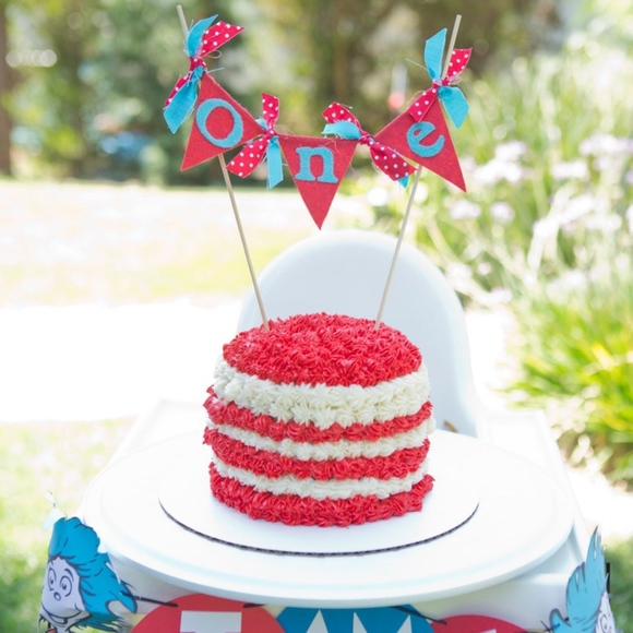 Dr Suess Cake Topper